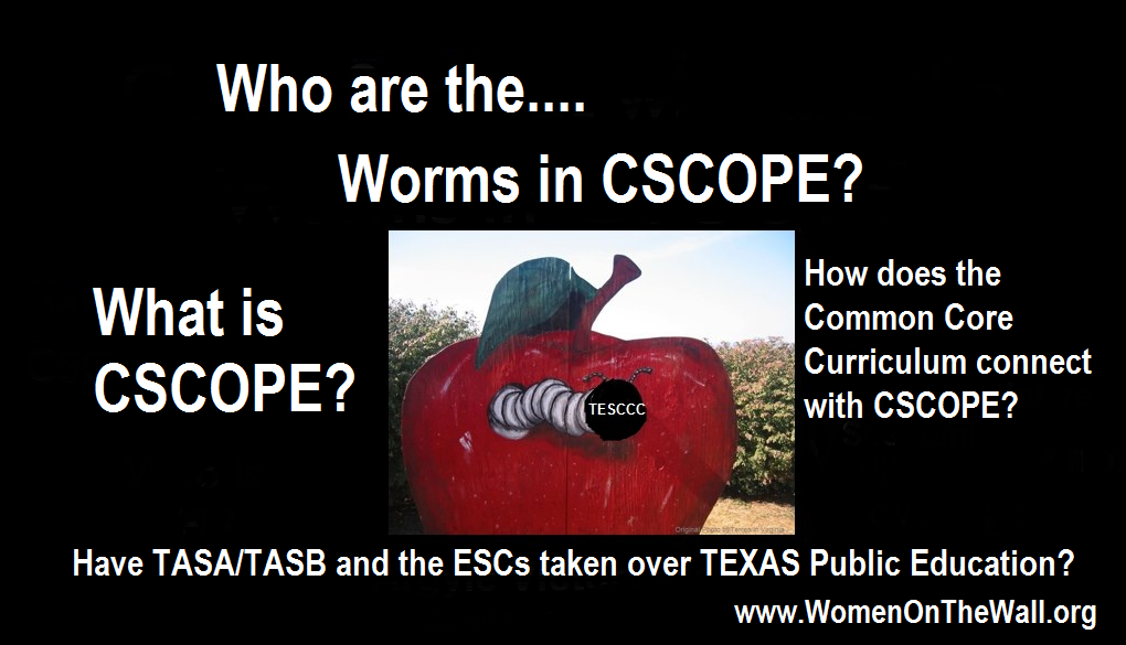 CSCOPE Questions, who are the worms