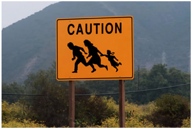 Caution, Illegal Immigration